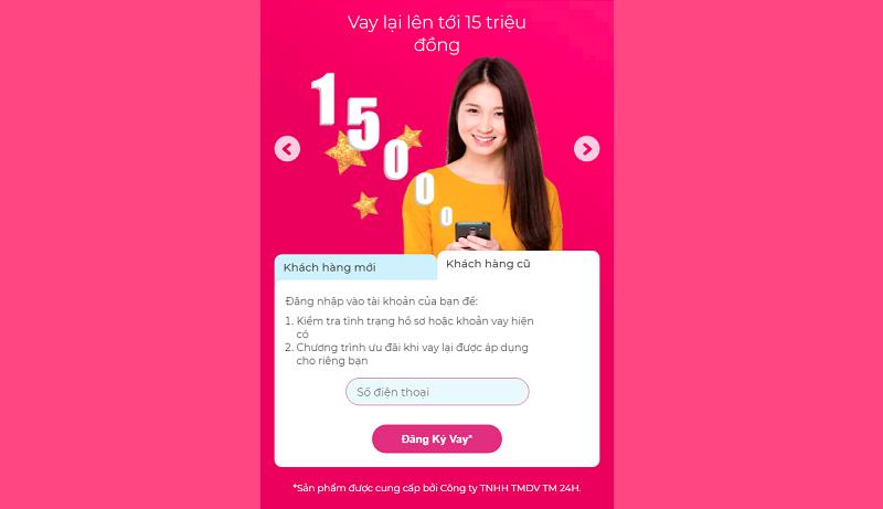 Hướng dẫn vay tiên ATM online