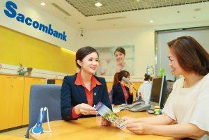 giờ làm việc ngân hàng Sacombank thứ 2 đến thứ 6, thứ 7