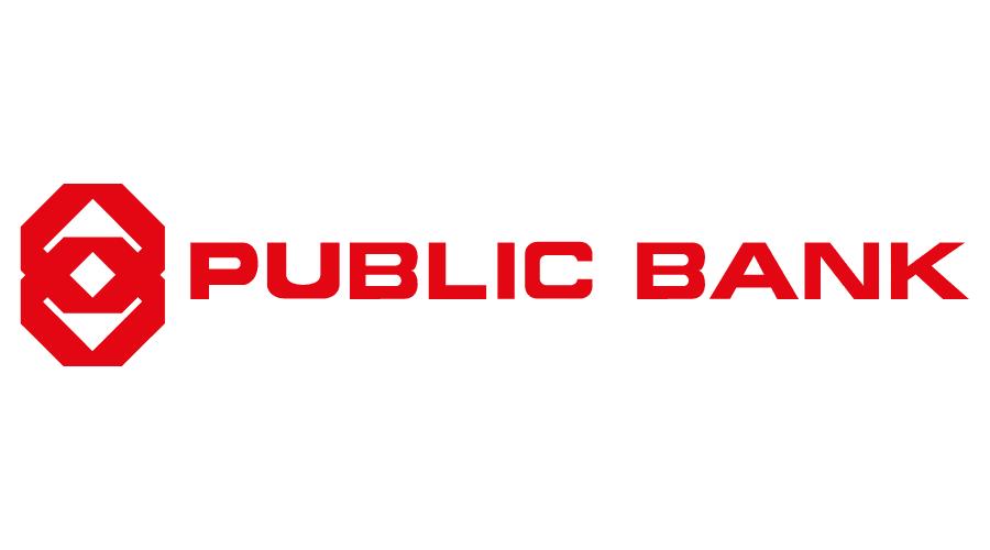Logo ngân hàng Public Bank - Ngân hàng đại chúng phát triển vì cộng đồng!