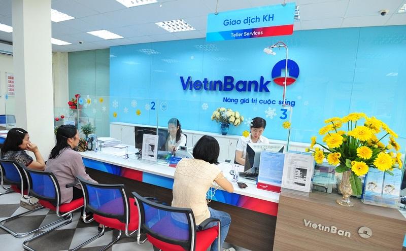 giờ làm việc ngân hàng Vietinbank từ thứ 2 đến thứ 6